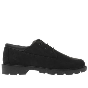 TIMBERLAND BLACK CLASSIC OXFORD BOYS JUNIOR SHOES