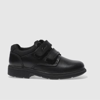 Clarks Black Deaton Boys Junior