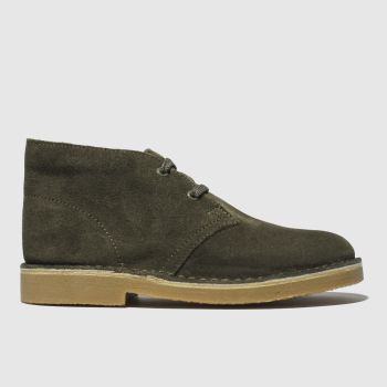 Clarks Originals Khaki Desert Boys Junior