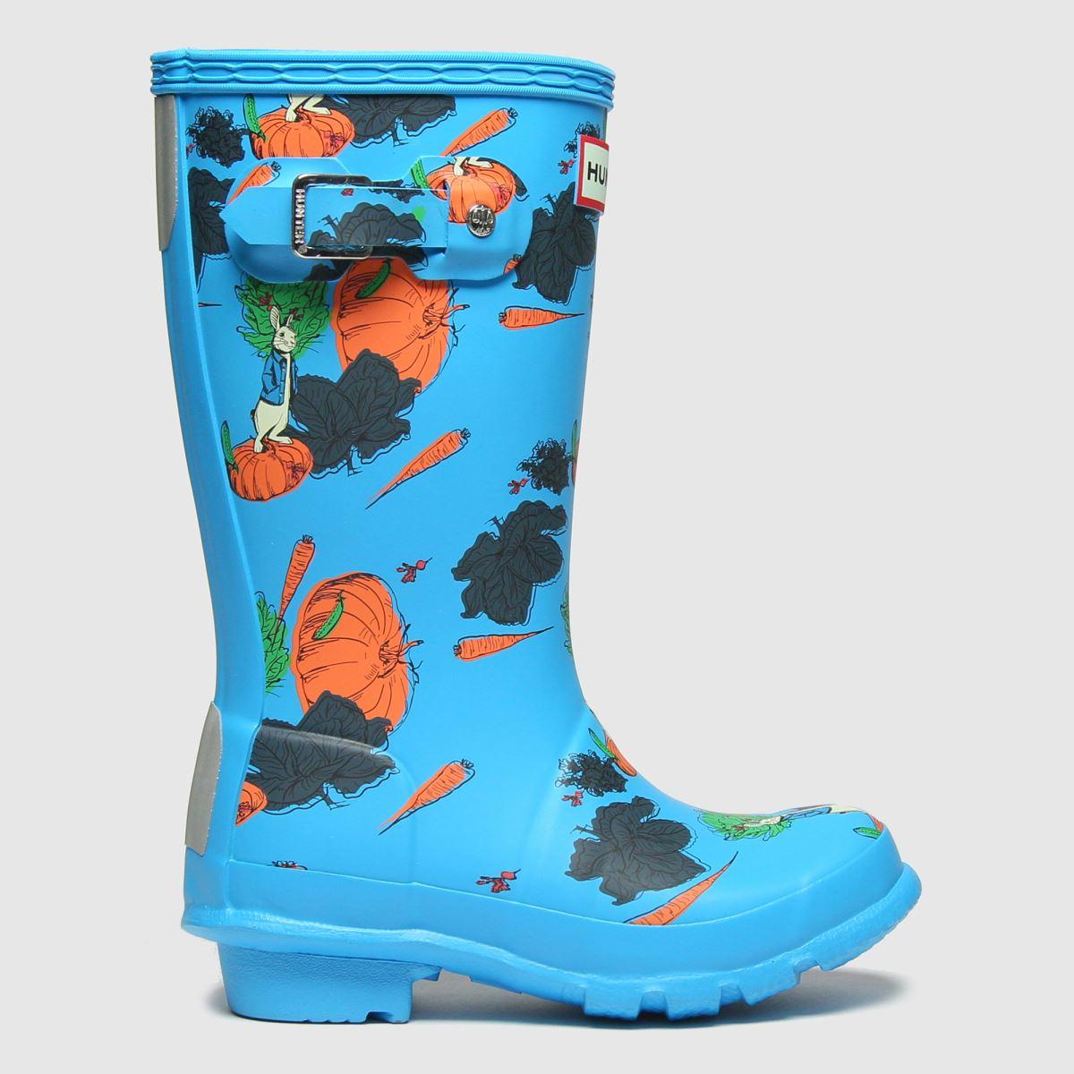 Hunter Blue Original Peter Rabbit Boots Junior