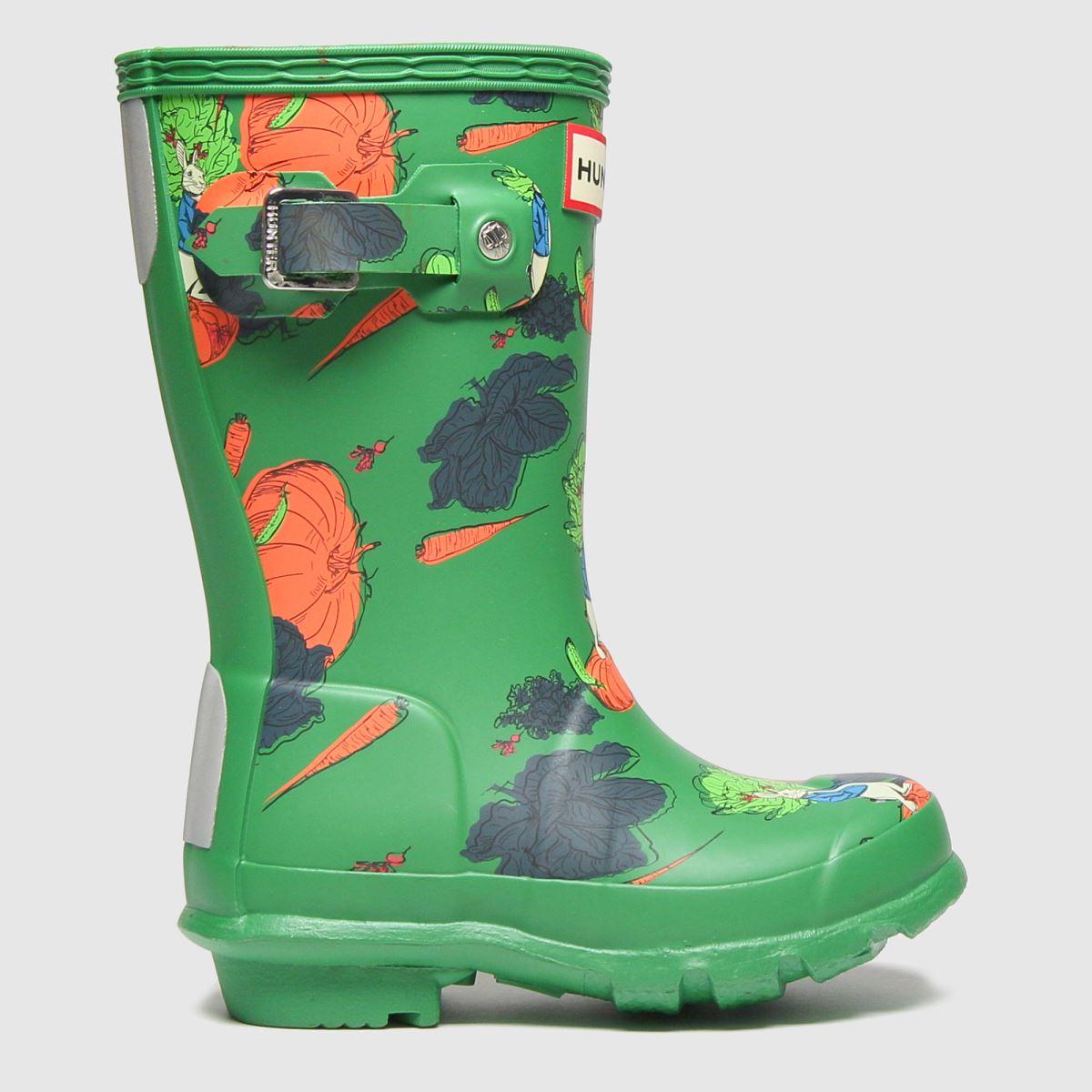 Hunter Green Original Peter Rabbit Boots Junior