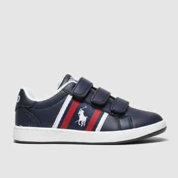 Polo Ralph Lauren Navy & White Oaklynn Boys Junior