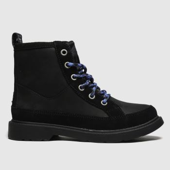 UGG Black Robley Boys Junior