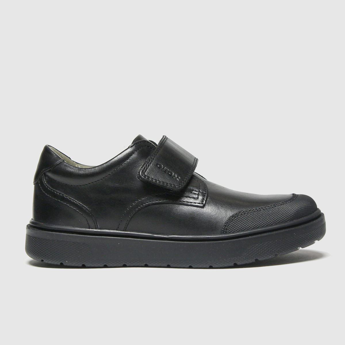 Geox Black Riddock Shoes Junior