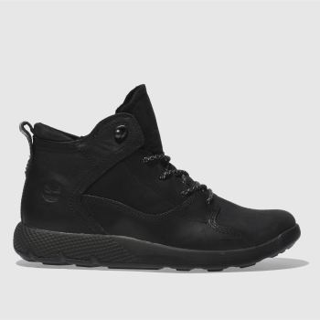 Timberland Black Flyroam Hiker Boys Youth