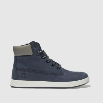 Timberland Navy Davis Square 6 Inch c2namevalue::Boys Youth