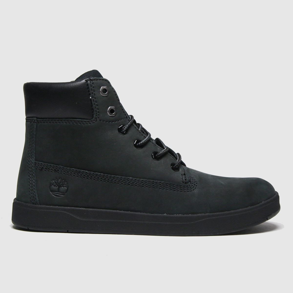 Timberland Black Davis Square Boots Youth