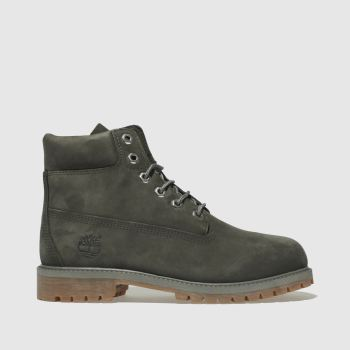 Timberland Dark Grey 6 Inch Premium Boys Youth
