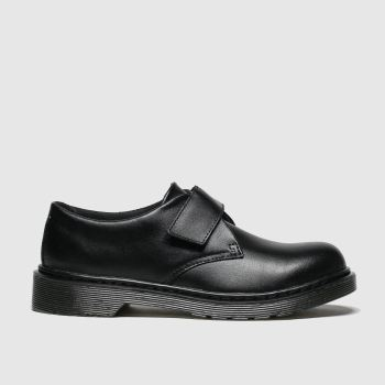 Dr Martens Black Kamron Boys Youth