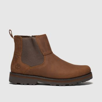 Timberland Brown Courma Chelsea Boys Youth