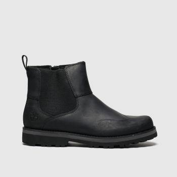 Timberland Black Courma Chelsea Boys Youth