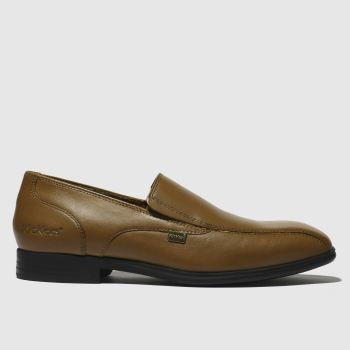 Kickers Tan Jarle Slip Boys Youth