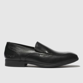 Kickers Black Jarle Slip Boys Youth
