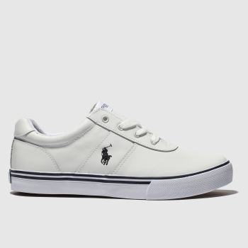Polo Ralph Lauren White Hanford Boys Youth from Schuh
