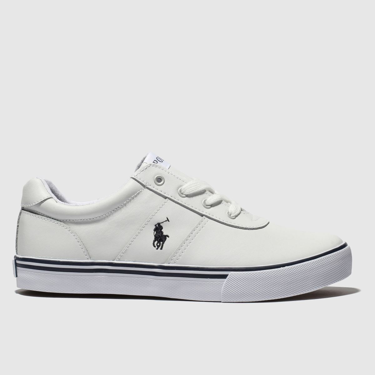 Polo Ralph Lauren White Hanford Shoes Youth