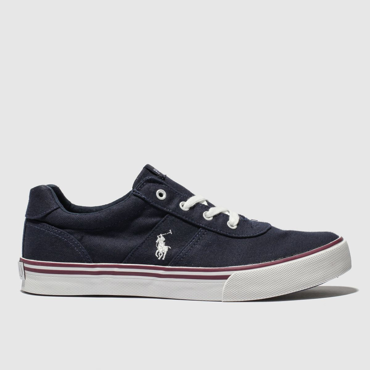 Polo Ralph Lauren Navy Hanford Shoes Youth
