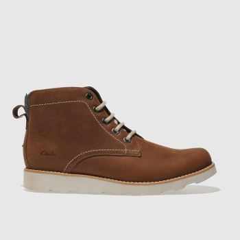 Clarks Tan Dexy Top Boys Youth