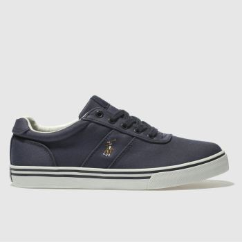 POLO RALPH LAUREN NAVY HANFORD BOOTS YOUTH