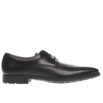 Clarks Black Willis Lad Boys Youth