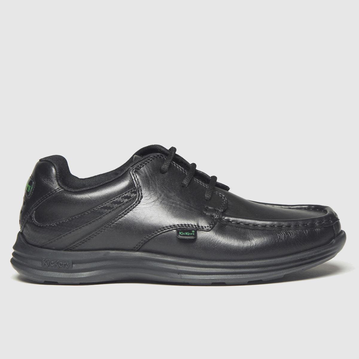 Kickers Black Reasan Lace Boots Youth
