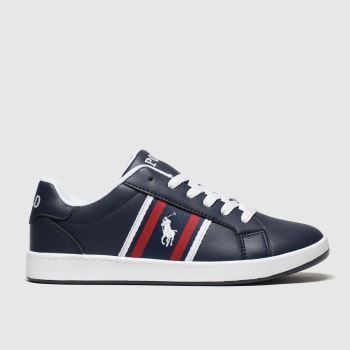 Polo Ralph Lauren Navy & White Oaklynn Boys Youth
