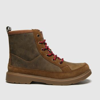 UGG Tan Robley Boys Youth