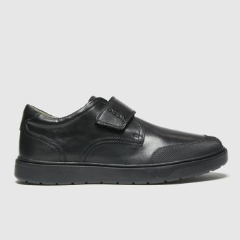 Geox Black Riddock Boys Youth#