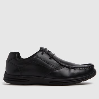 schuh Black Lesson Lace Up Boys Youth