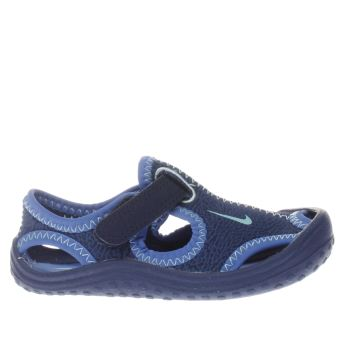NIKE BLUE SUNRAY PROTECT BOYS TODDLER SANDALS