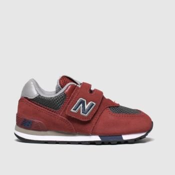 New Balance Red 574 Boys Toddler