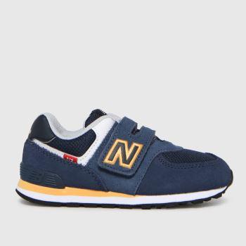 New balance Navy 574 Boys Toddler