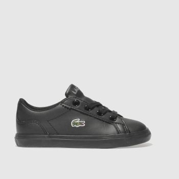 Lacoste Black Lerond Boys Toddler