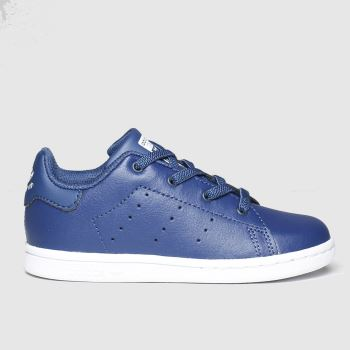 adidas Navy Stan Smith Boys Toddler