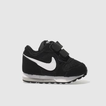 Nike Black & White Md Runner 2 Boys Toddler