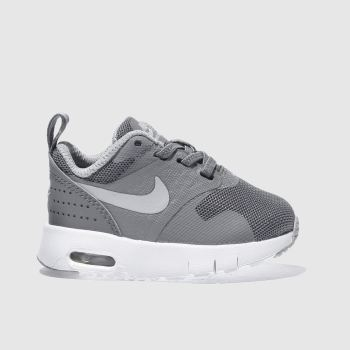 NIKE GREY AIR MAX TAVAS TRAINERS TODDLER
