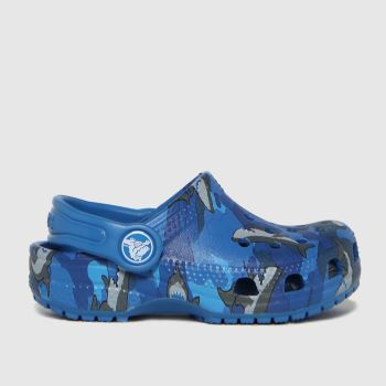 crocs Blue Classic Clog Boys Toddler