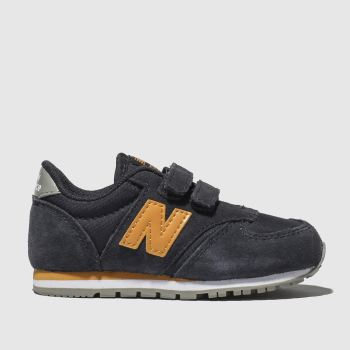 New Balance Navy & Orange 420 Boys Toddler