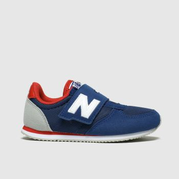 New Balance Navy & Red 220 Boys Toddler