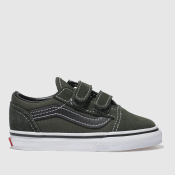 Vans Khaki OLD SKOOL V Boys Toddler