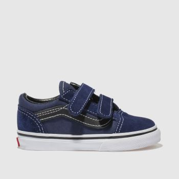 Vans Navy & Black OLD SKOOL Boys Toddler