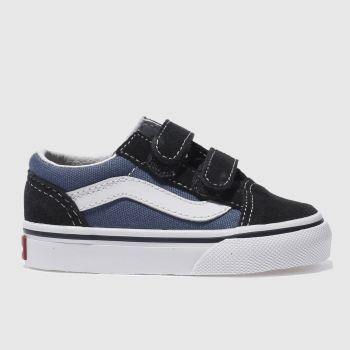 Vans Navy Old Skool V c2namevalue::Boys Toddler