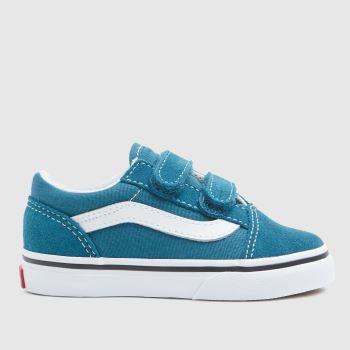 Vans Blue Old Skool V Boys Toddler