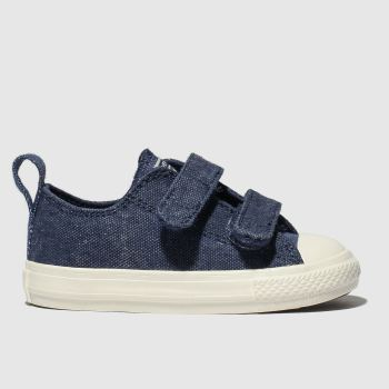 ae59510d88 Converse Navy All Star 2V Lo Boys Toddler
