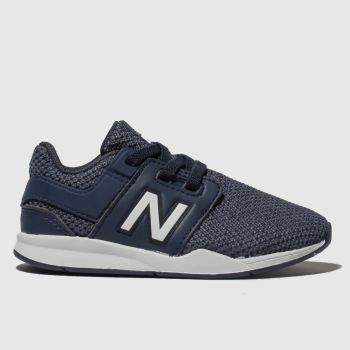 New Balance Navy & White 247 V2 Boys Toddler