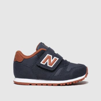 New Balance Navy & Orange 373 Boys Toddler