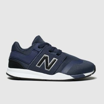 New Balance Navy & Black 247 Boys Toddler