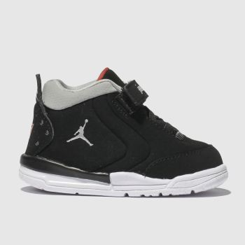 Nike Jordan Black & Silver Big Fund Boys Toddler