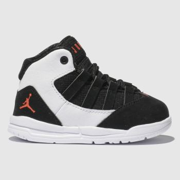 Nike Jordan White & Black Max Aura Boys Toddler