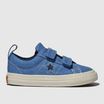 Converse Blue One Star 2V Lo Boys Toddler