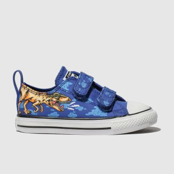 Converse Blue All Star 2V Dino Lo Boys Toddler